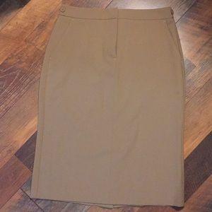 Moda international Khaki skirt Sz 2